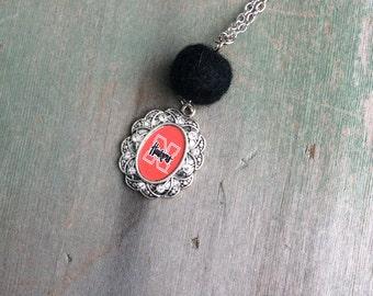 Husker Necklace/Athletics/Modern/Nebraska