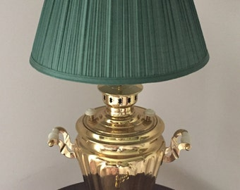 Vintage Russian Samovar Lamp