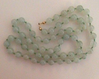 Beautiful Vintage Green Beads