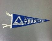 Vintage Pennant - Blue Camp Hantesa Wall Flag
