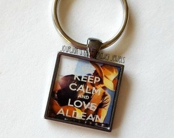 Keep Calm and Love Aldean Keychain, I Love Jason Aldean, Country Music Keychain, Country Star, Country Girl, Country Music, Gift for Her