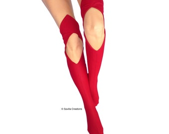 Supergirl New 52 Bootlets. Shoe cover. Thigh highs