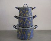 Vintage French, Enamel Wa...