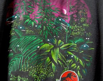 1993 Jurassic Park Velociraptor Children's T-shirt