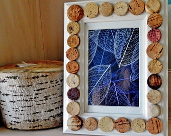 White Wine Cork Picture Frame