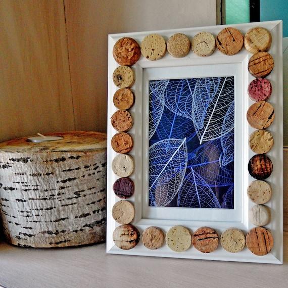 White Wine Cork Picture Frame