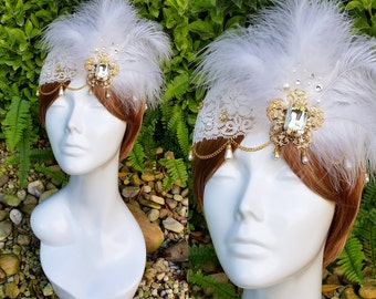 The Great Gatsby 1920s Flapper Headpiece