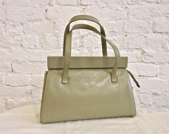 60s La Bagagerie by Jean Marlaix Bag - Cool Color - Great Little Bag