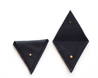 Triangle Pouch - Black