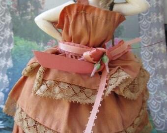 Vintage German Pincushion Doll