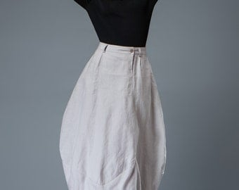 Light gray Skirt Women's Skirts Bud skirt C823