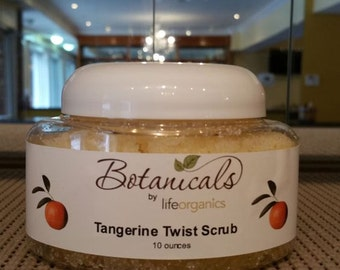 Tangerine Twist Sea Salt Scrub (10 oz.)