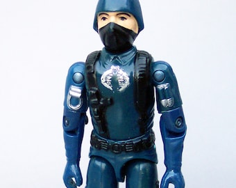 Vintage GI Joe 1983 Viper Pilot With File Card C8 Tight Joints Very Rare
