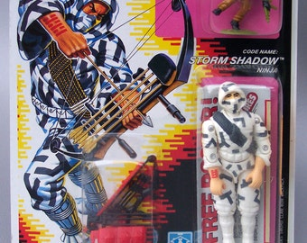 Vintage GI Joe 1989 Storm Shadow (MOC) C9 Near Mint AFA Worthy