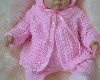 Newborn Coming Home Outfit Will Also suit a18 - 20 inch Reborn Baby Doll. Outfit Ready to Ship.
