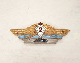 Rare Vintage Soviet Pin - f115c