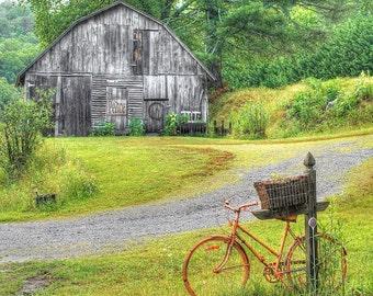 Bicycle Photo Art Tile