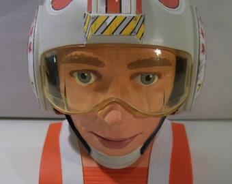 Vintage Micro Machines Star Wars Rebel Pilot Hoth Playset, 1996 Galoob, Complete