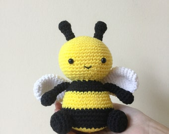 Bumble the Bee: A Crochet PDF Pattern in UK and US terms