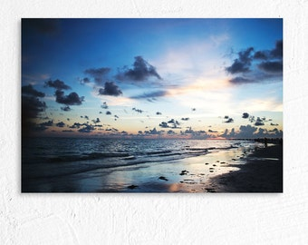 Sunset on the Ocean Landscape Photography Siesta Key Florida