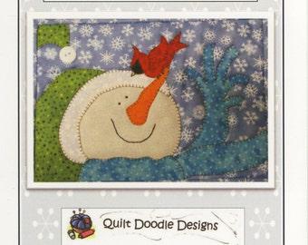 Hello Birdie Mug Rug Pattern by Quilt Doodle Designs (QD317)