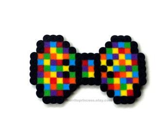 8 Bit Hair Bow - 8 Bit Bow Tie - 8 Bit Bow - Pixel Bow - Pixel Hair Bow - Pixel Bow Tie
