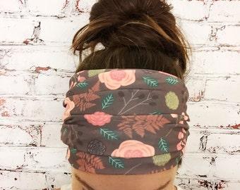 Yoga Headband - Extra Wide - Botanica - Eco Friendly