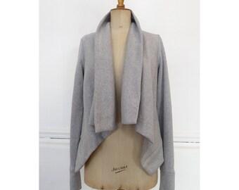 The Longley cardigan DIGITAL sewing pattern (for stretch knit fabrics)