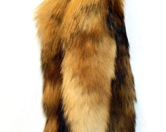 2 Wild Red Fox Tail Key Chains  Free Shipping