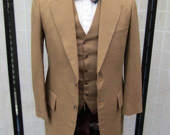 Brown 3pc Suit