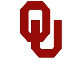 University of Oklahoma Vinyl Decal