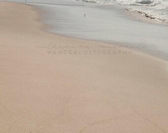 Dockweiler Beach Photography,  Los Angeles Photography, California Beaches, Pastel Beach Art, Bohemian Wall Decor, Large Art, Poster Size