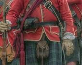 RESERVED For JASON STECHELE 42nd Royal Highland Regiment Jacket. French & Indian War Jacket