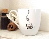 "Alice in Wonderland ""Drink Me"" Mug (( the original ))"