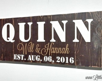 Large Wood Signs | Personalized Family Name Sign | Housewarming Gift | Lake House Decor | Ranch Sign | Engagement Gift | Farmhouse Decor