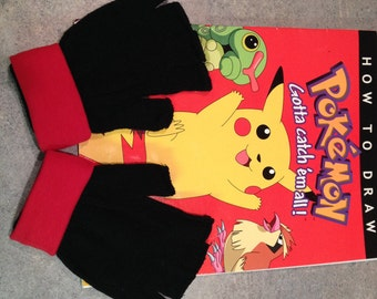 Pokemon TRainer  GLOVES - XY   -  Costume  - Cosplay Gloves -
