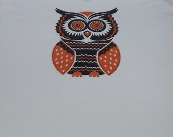 Women's Shirt ~ Owl Shirt ~ Women's  Clothing ~ Owl Top ~ Owl ~  Shirt  ~ Top ~Women's  Owl Tshirt