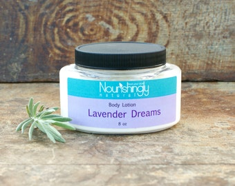 Lavender Lotion, Organic Lavender Essential Oil Lotion, Natural Hand Lotion, Paraben Free Lotion, Dye Free Body Lotion, Lavender Body Cream