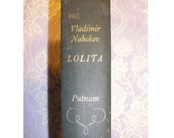 Lolita by Vladimir Nabokov, Putnam First Edition 1955, Hardcover