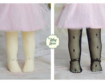Lati Yellow/ Pukifee - PolkaDot Lace PantyHose/ Legging