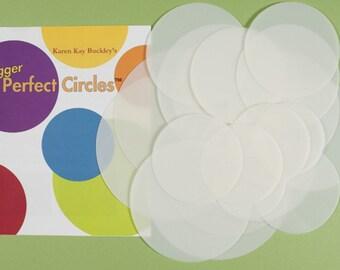 Bigger Perfect Circles - Karen Kay Buckley - Perfect circles-Mylar Circle Templates-Circle Template Set- Free shipping available- Australia
