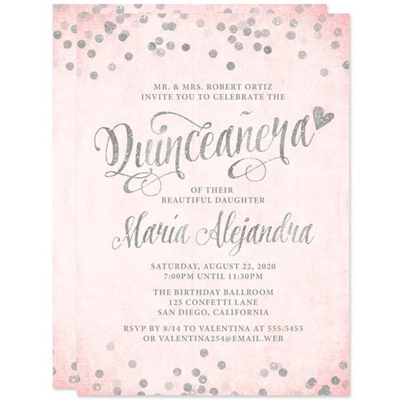 Quinceañera Invitation is adorable invitation ideas