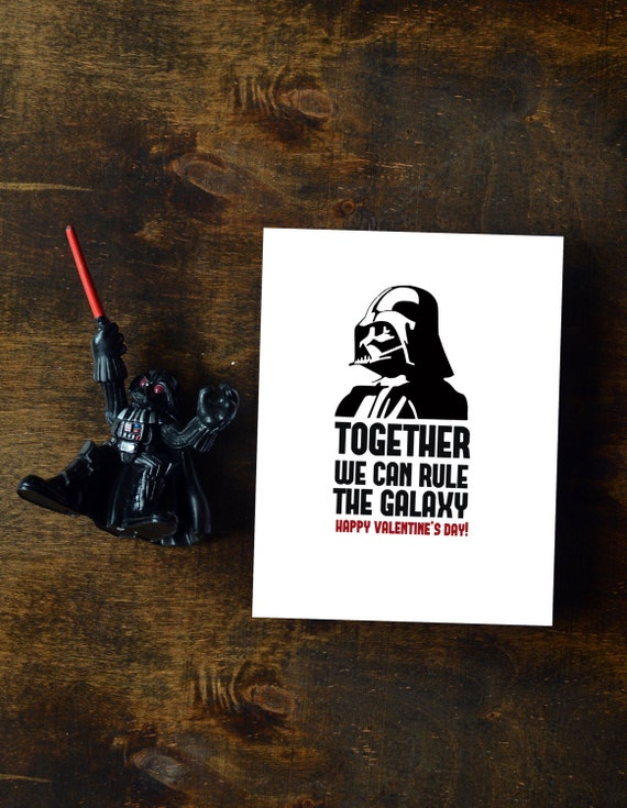 Schön Darth Vader Valentines Day Card   Together Rule Galaxy || INSTANT DOWNLOAD
