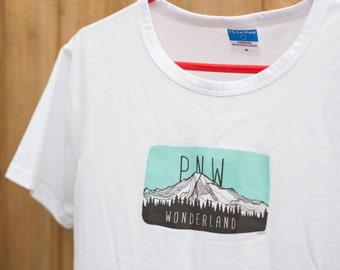 PNW Wonderland Cotton Tshirt