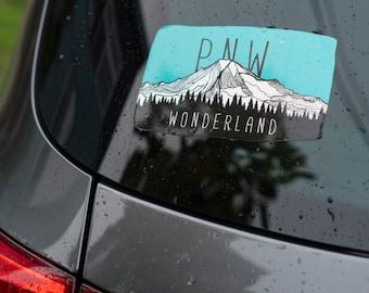 PNW Wonderland Weatherproof Sticker