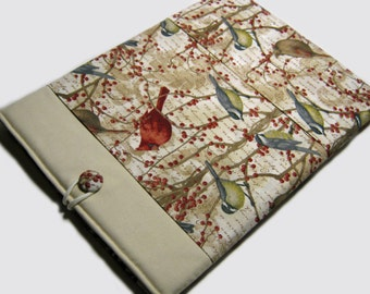 Kindle Paperwhite Cover, iPad Mini Case, Kindle Fire HDX Case, iPad Mini 3 Cover, Kindle Case, Lenovo Yoga 8,  Red Birds