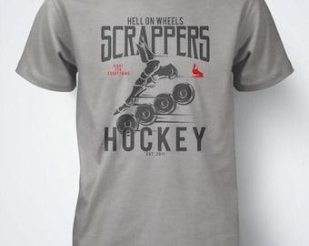 WHEELS by Scrappers Hockey original for roller hockey