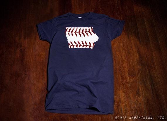 Iowa baseball Ladies junior fit t-shirt