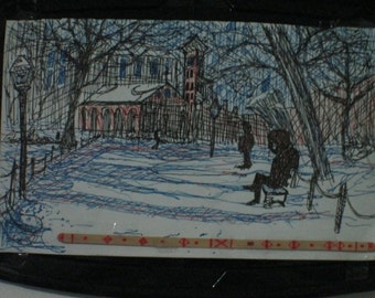 winter washington square