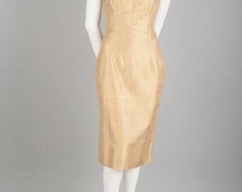 Dorina silk dress